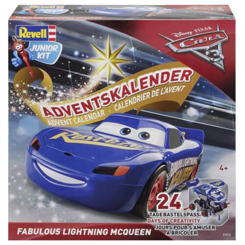 """Ludibrium-Revell 01012 - Advenskalender """"Fabulous Lightning McQueen"""" Junior Kit"""