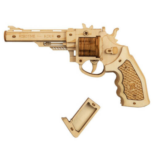 Ludibrium-ROKR - Revolver Corsac M60 - 3D Holzbausatz