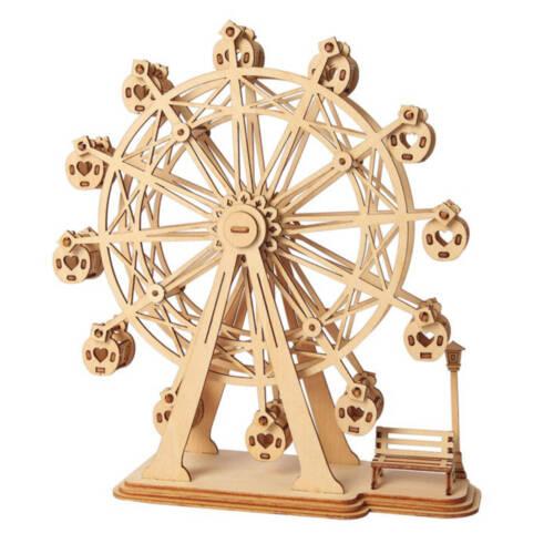 Ludibrium-Rolife - Riesenrad - 3D Holzbausatz / Holzmodell mit Getriebe