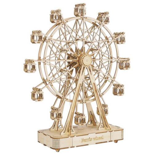 Ludibrium-Rolife - Riesenrad Spieluhr - 3D Holzpuzzle