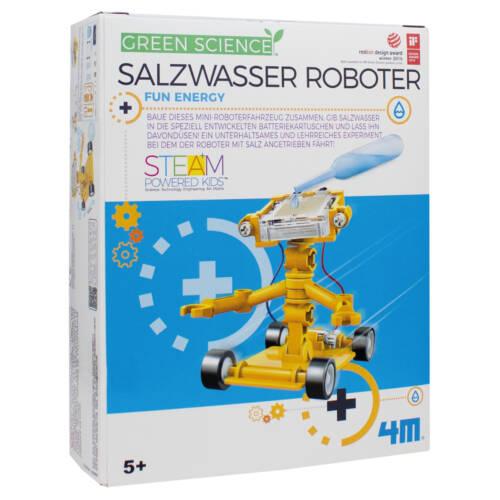 Ludibrium-4M Green Science - Lern- und Entdeckungsset - Salzwasser Roboter
