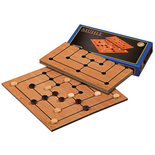 Ludibrium-Philos - Mühle Set - Brettspiel