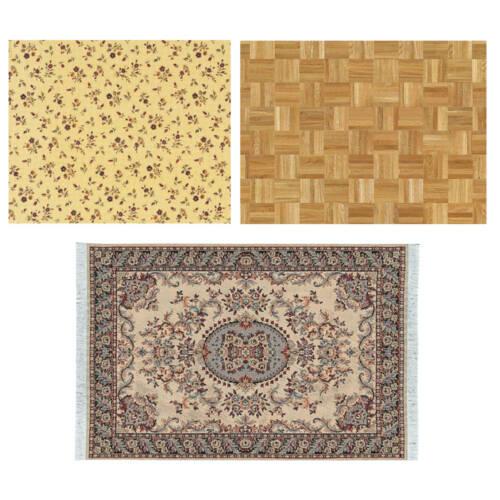 Tapeten, Bodenbeläge und Teppiche