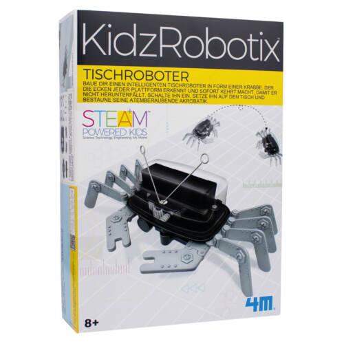 Ludibrium-4M KidzRobotix - Lern- und Entdeckungsset - Tischroboter