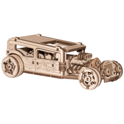 Ludibrium-Wooden.City - Hot Rod WR339 - Holzbausatz