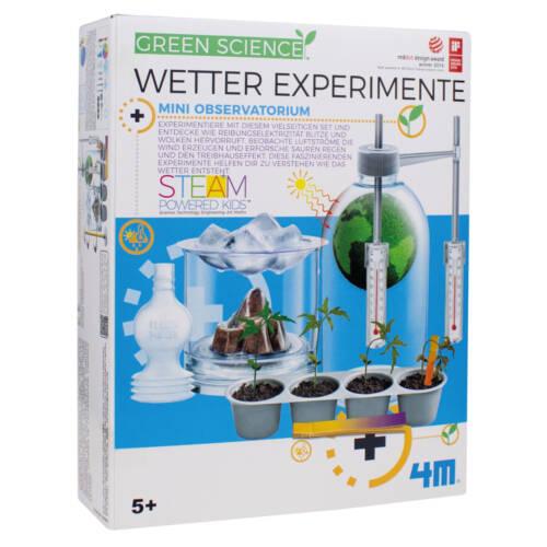 Ludibrium-4M Green Science - Lern- und Entdeckungsset - Wetter Experimente