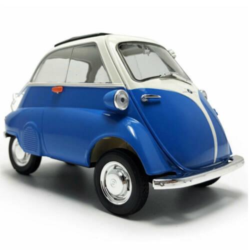 Ludibrium-Welly 240613 -BMW Isetta blau und weiss 1955, 1:18