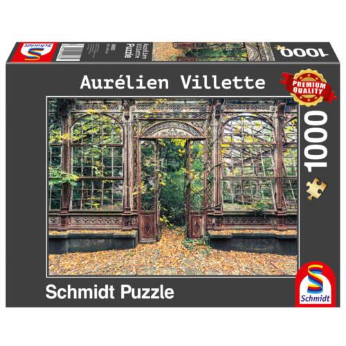 Ludibrium-Schmidt Spiele - Bewachsene Bogenfenster - 1000 Teile