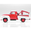 Ludibrium-Whitebox - Chevrolet 3100 Tow Truck 1956 rot/weiss 1:43