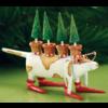 Ludibrium-Krinkles - Tree Hound Dog Christmas Ornament