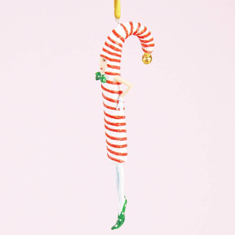Ludibrium-Krinkles - Candy Cane Mini Ornament