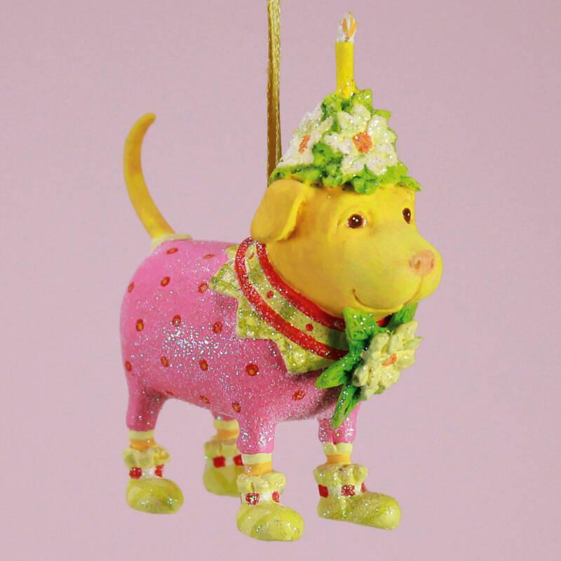 Ludibrium-Krinkles - Yellow Labrador Mini Ornament