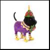 Ludibrium-Krinkles - Black Labrador Mini Ornament