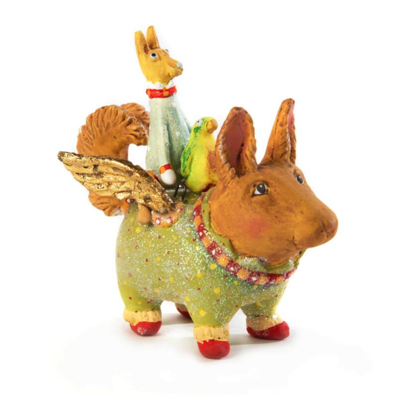 Ludibrium-Krinkles - Terrier Carrier Mini Ornament