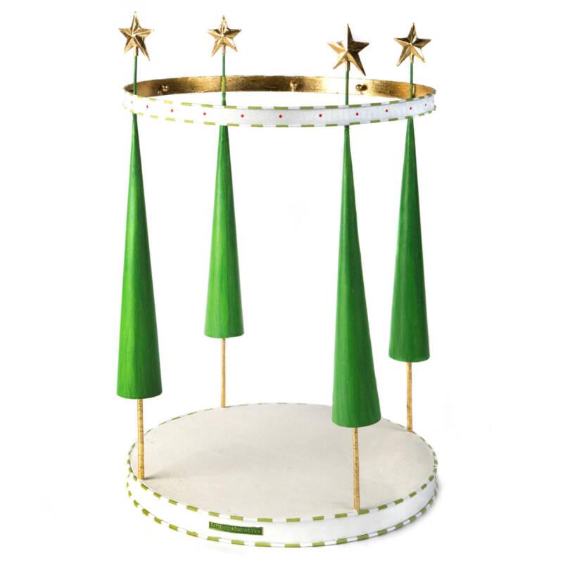 Ludibrium-Krinkles - Dash Away - Rentier Mini Ornament Display