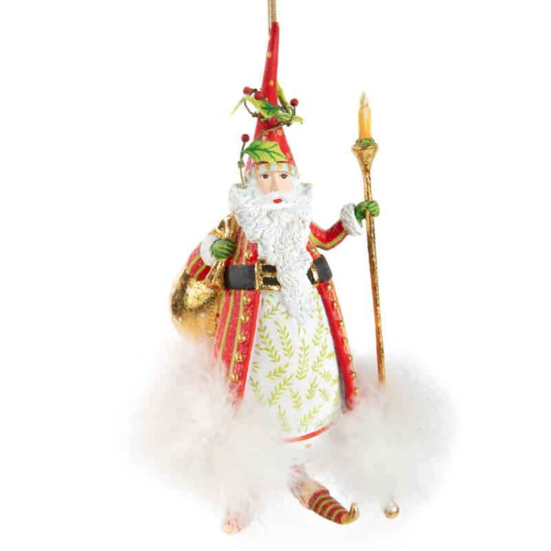 Ludibrium-Krinkles - Dash Away - Nicholas Santa Ornament