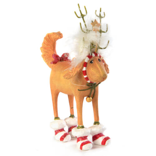 Ludibrium-Krinkles - Douglas Dog Deer Mini Ornament