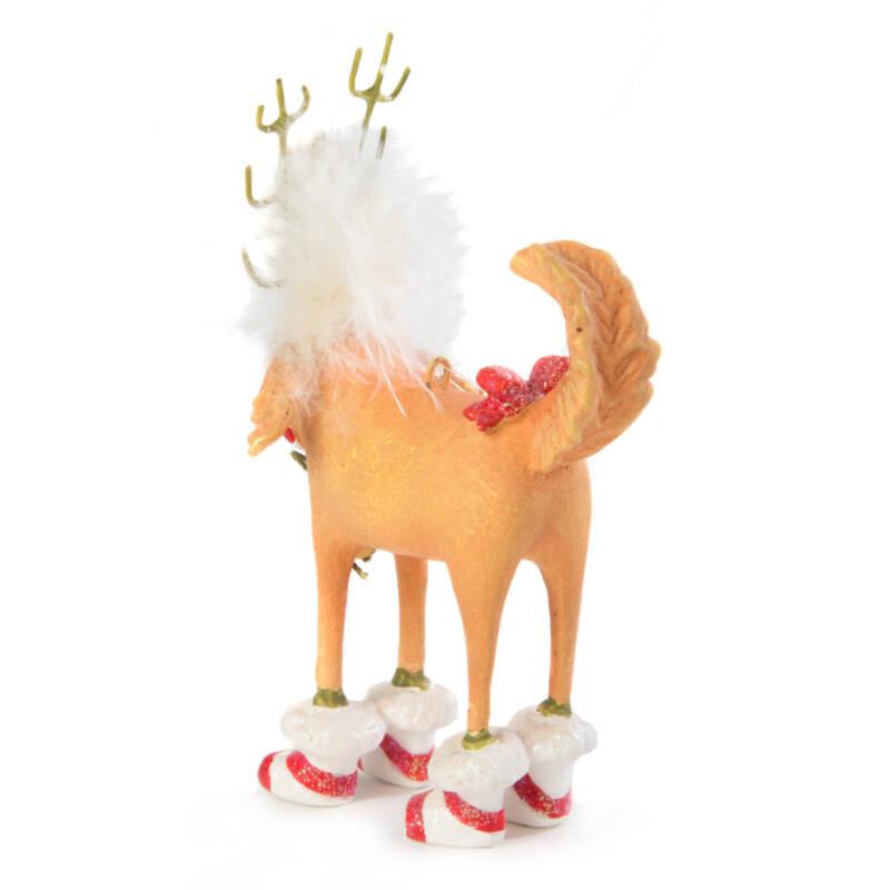 Ludibrium-Krinkles - Douglas Dog Deer Mini Ornament