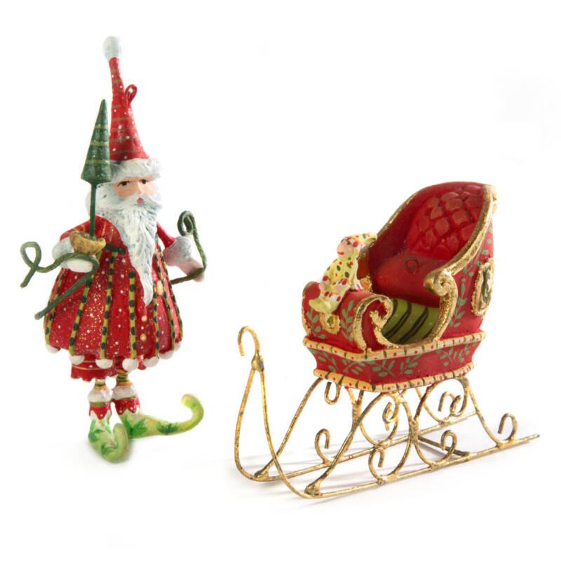 Ludibrium-Krinkles - Dash Away - Schlitten Mini Ornament
