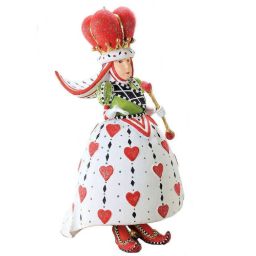 Ludibrium-Krinkles - Queen of Hearts Ornament