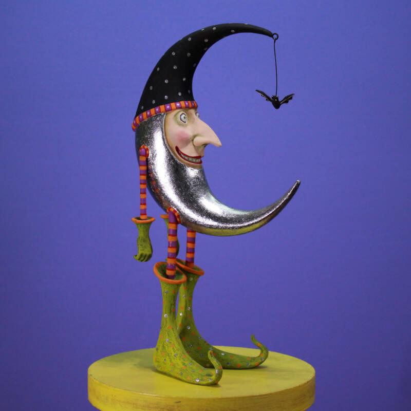 Ludibrium-Krinkles - Halloween - Bat Moon Figure