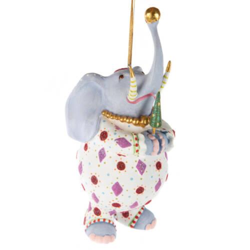 Ludibrium-Krinkles - Jambo Elephant Eleanor Ornament