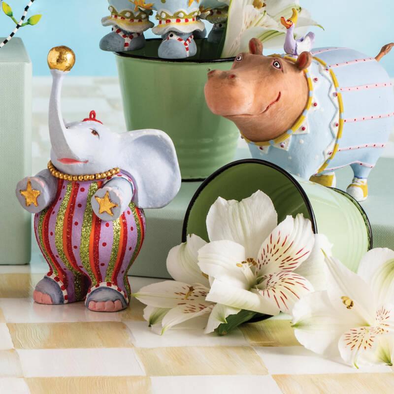 Ludibrium-Krinkles - Jambo Elephant Anika Ornament