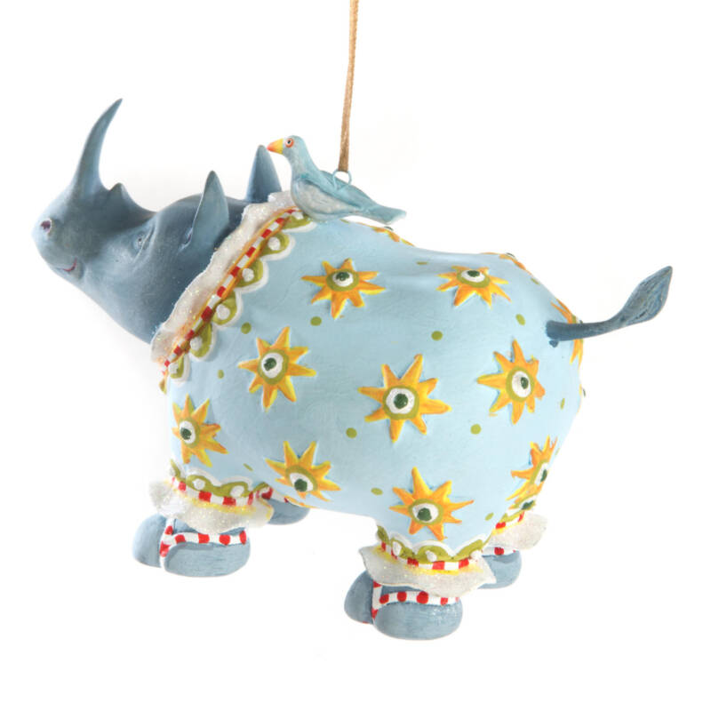 Ludibrium-Krinkles - Jambo Roberta Rhino Ornament