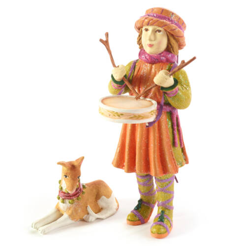 Ludibrium-Krinkles - Nativity Minifiguren – Little Drummer Boy mit Hund