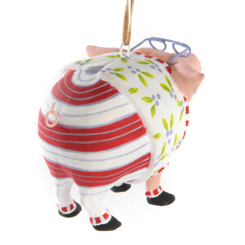 Ludibrium-Krinkles - Norbert Pig Mini Ornament