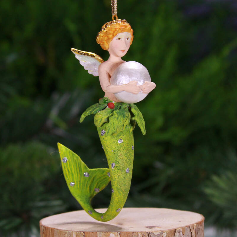 Ludibrium-Krinkles - Pearl Mer Girl Mini Ornament