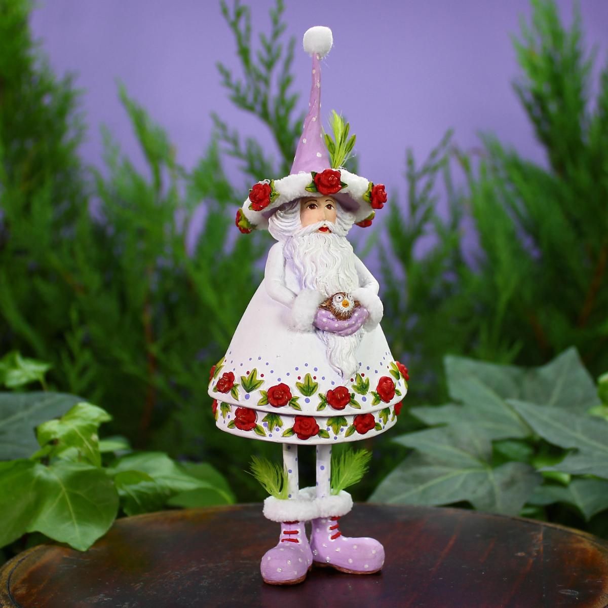 Ludibrium-Krinkles - Woodland - Santa Ornament