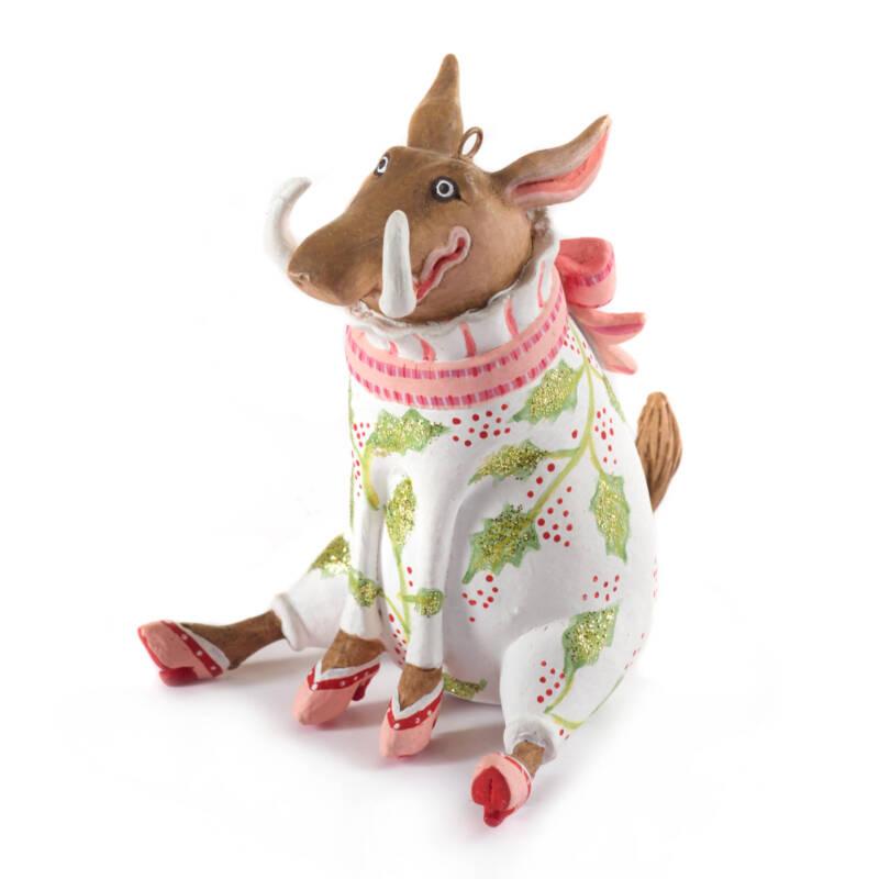 Ludibrium-Krinkles - Jambo Winifred Warzenschwein Mini Ornament