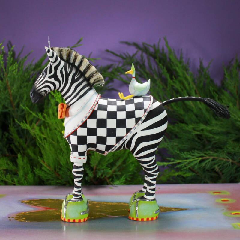 Ludibrium-Krinkles - Krinkles - Jumbo Jambo Zeke Zebra Figur