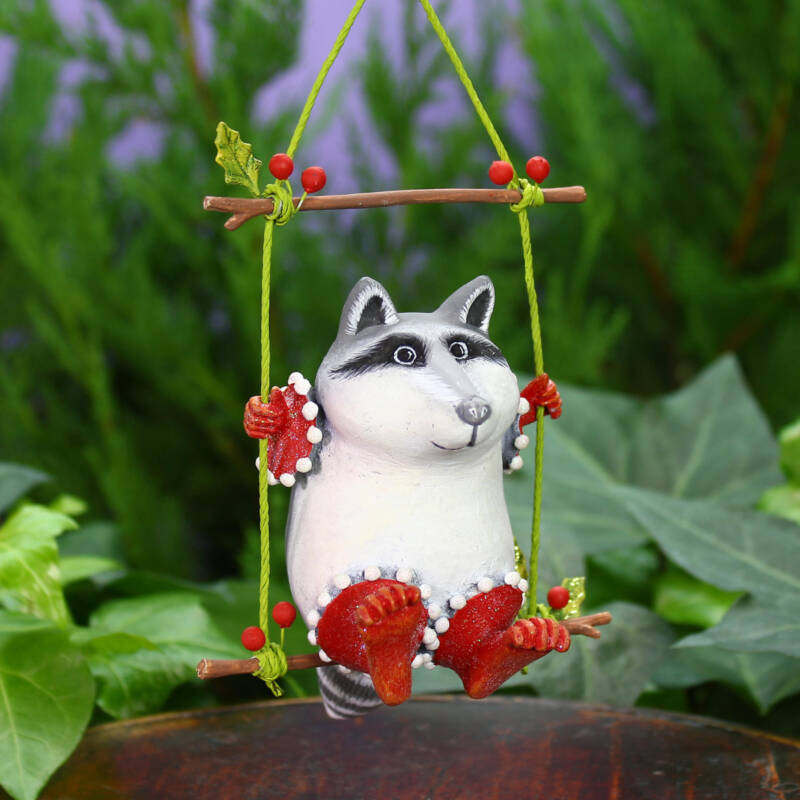 Ludibrium-Krinkles - Woodland - Waschbär Huck Ornament