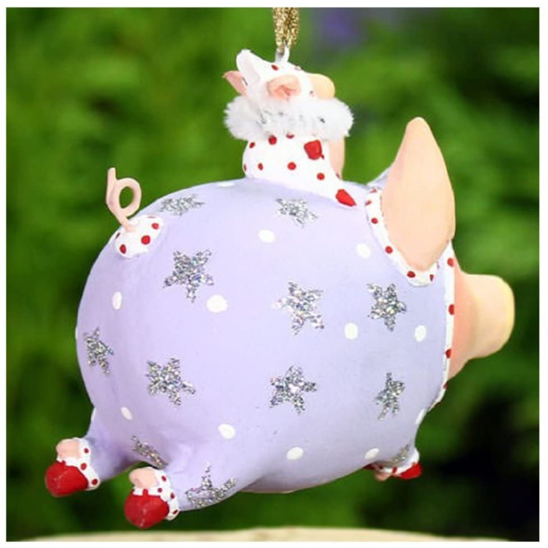 Ludibrium-Krinkles - Mini Tinkerbelle Flying Pig Figur