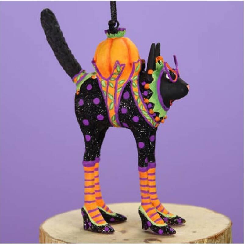 Ludibrium-Krinkles - Halloween - Mini Katzenfigur schwarz