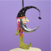 Ludibrium-Krinkles - Halloween - Mini Fledermaus Mond Ornament