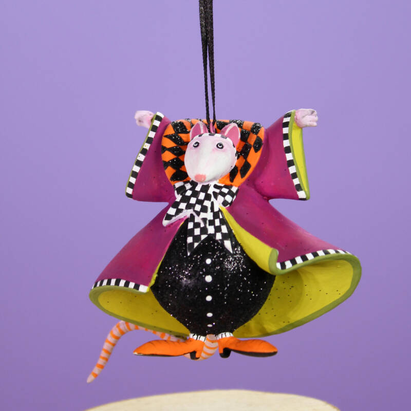 Ludibrium-Krinkles - Halloween - Mrs. Ratula Mini Ornament