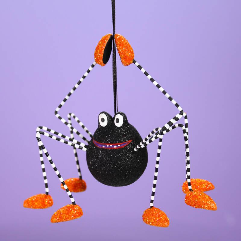 Ludibrium-Krinkles - Halloween - Webster Spider Ornament