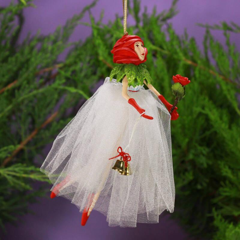Ludibrium-Krinkles - Rose Fairy Ornament