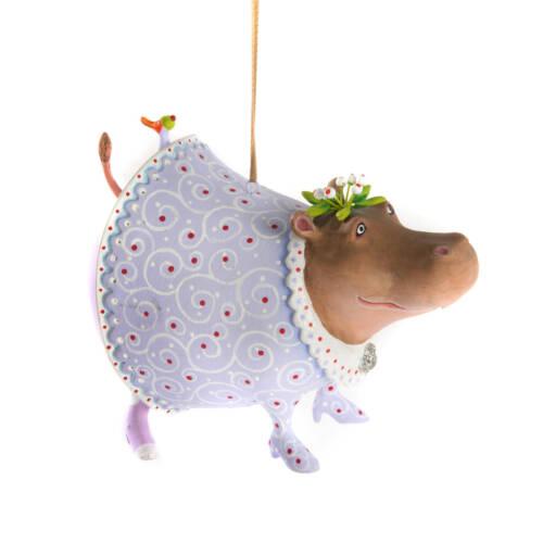 Ludibrium-Krinkles - Jambo Helen Hippo Ornament