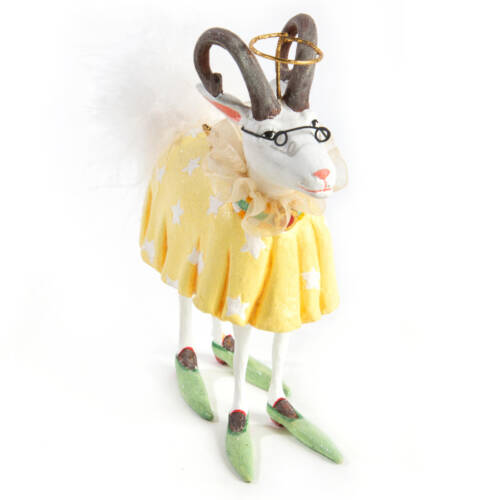 Ludibrium-Krinkles - Nativity Minifiguren – Nanny die Ziege Ornament