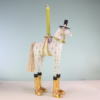 Ludibrium-Krinkles - Pferd Arthur Kerzenhalter