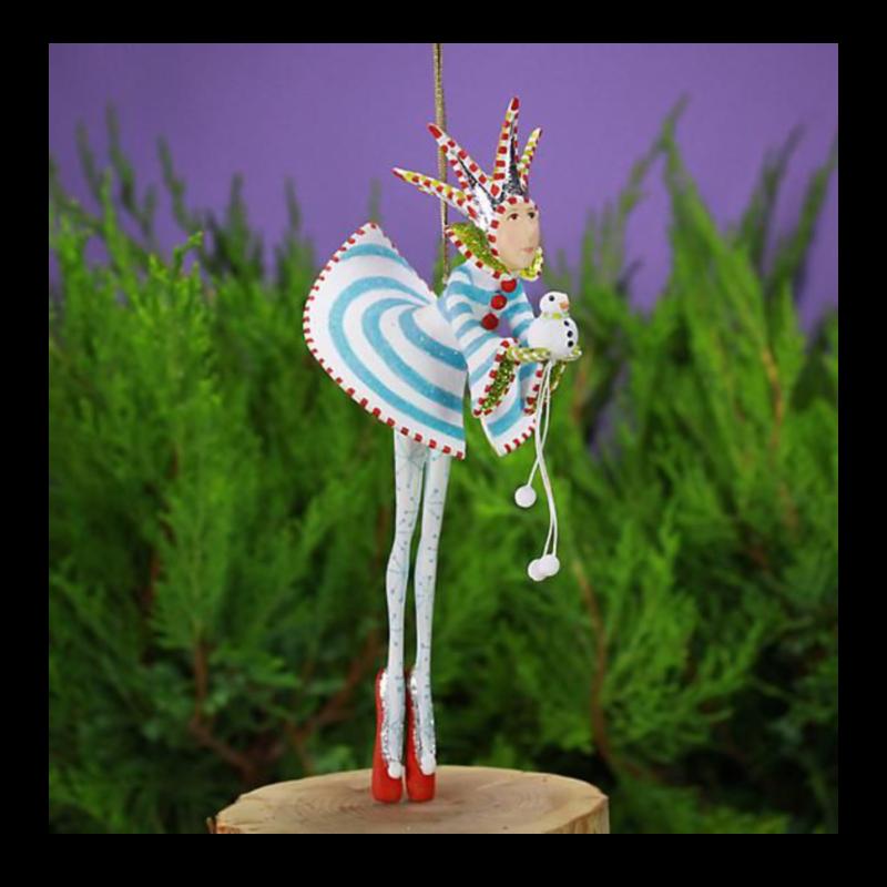 Ludibrium-Krinkles - Schneekönig Ornament