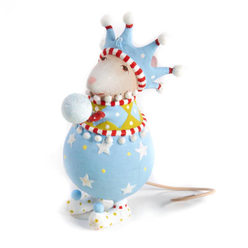 Ludibrium-Krinkles - Dash Away - John Snowball Mouse Ornament