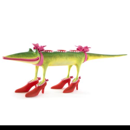 Ludibrium-Krinkles - Gloria Alligator Kerzenhalter