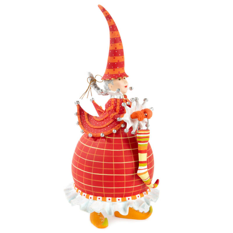 Ludibrium-Krinkles - Dash Away - Red Mrs. Santa Figur