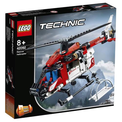 Ludibrium-LEGO Technic 42092 - Rettungshubschrauber - Klemmbausteine