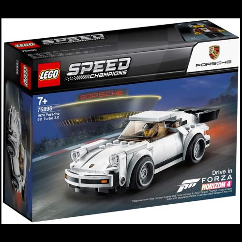 Ludibrium-LEGO Speed Champions 75895 - 1974 Porsche 911 Turbo 3.0 - Klemmbausteine